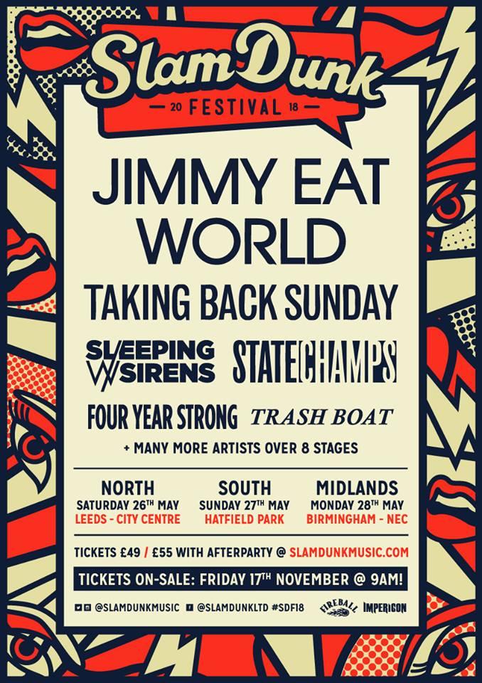 Slam Dunk Festival 2018 - November