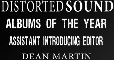 Distorted Sound Albums of the Year 2017 - Dean Martin