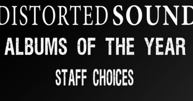 Distorted Sound Albums of the year 2017 - Staff Choices