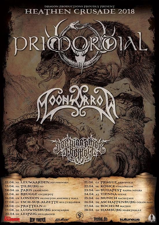 Primordial European Tour 2017