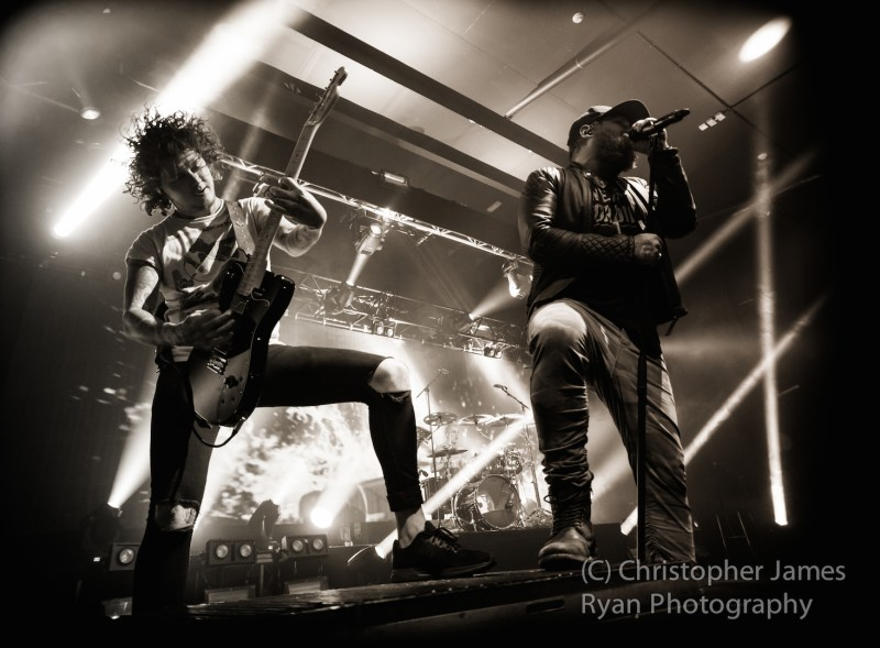 Asking Alexandria live @ Academy, Manchester. Photo Credit: Christopher Ryan Photography