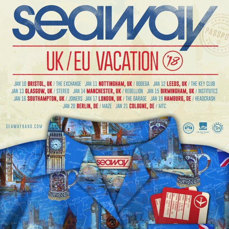 Seaway European/UK Tour 2018