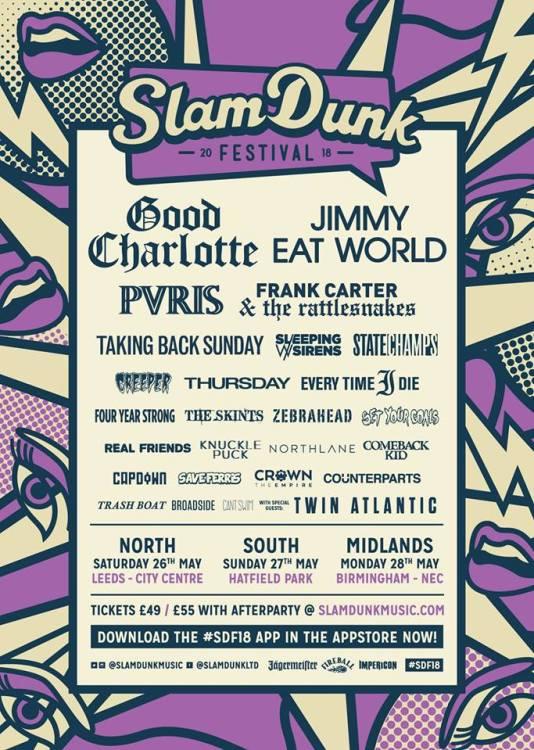 Slam Dunk Festival 2018 - 26 Jan