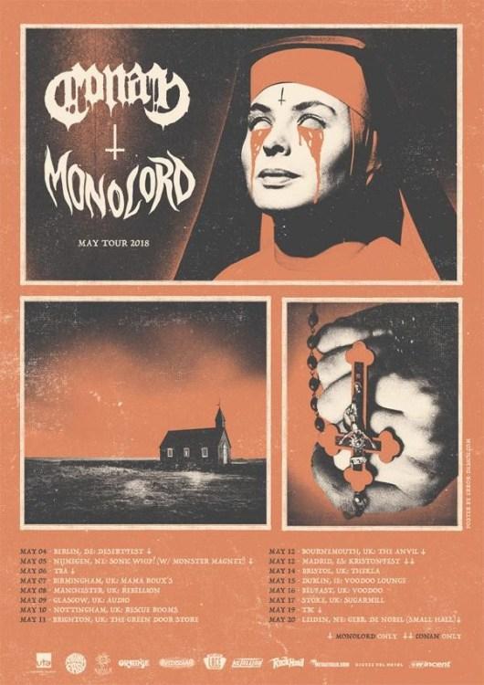 Conan European/UK Tour 2018