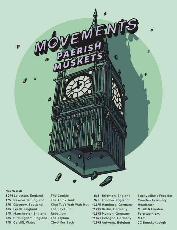 Movements UK Tour 2018