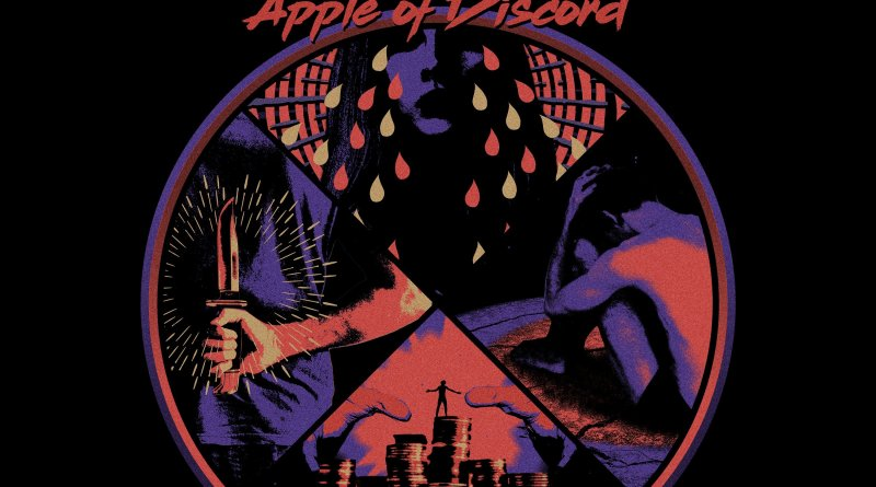 ALBUM REVIEW: Apple Of Discord - Ghost Iris - Distorted