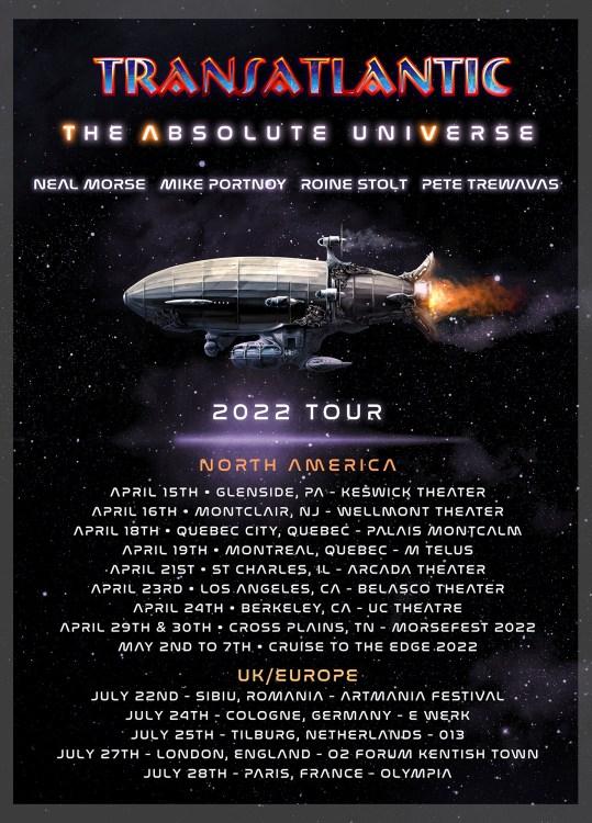 Transatlantic World Tour 2022