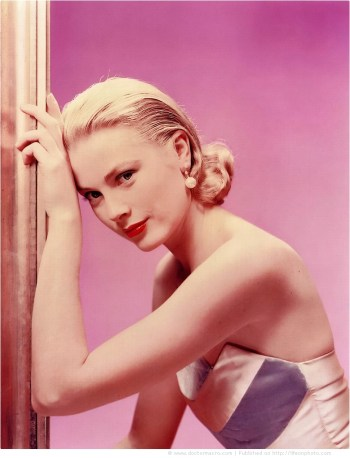 """Portrait of Grace Kelly for """"The Bridges at Toko-Ri"""" directed by Mark Robson, 1954"""