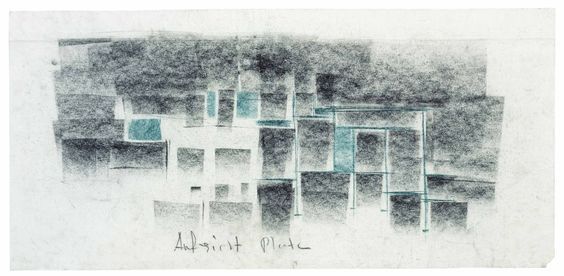 Peter Zumthor Sketches | Therme Vals
