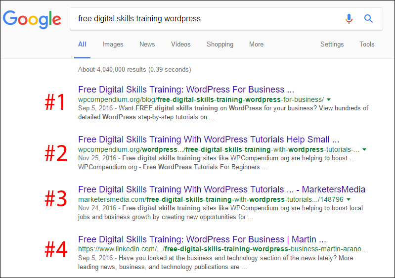 Press releases can help drive up rankings for your website!