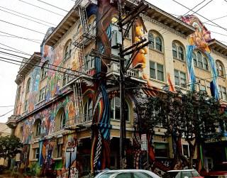 Central Line Women's Building, San Francisco, CA digital photographic print