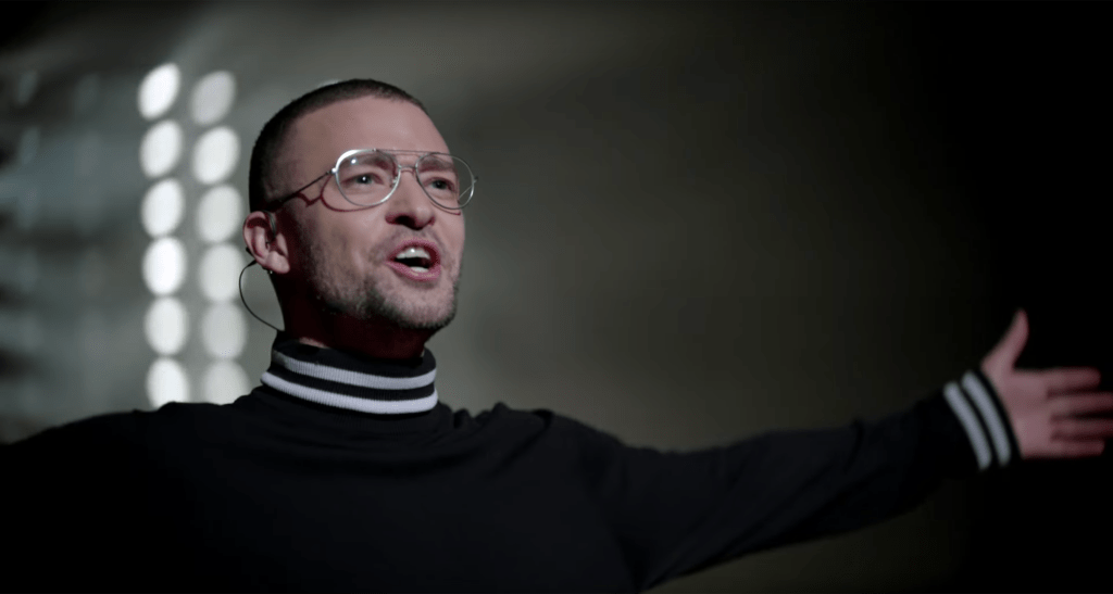 Justin Timberlake Returns with Filthy and Robo Futuristic Video_distract tv 01