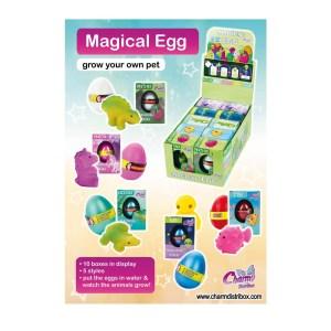 Póster Colección Charm Magical Egg