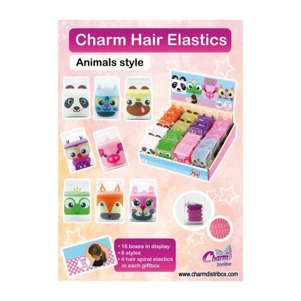 Póster Colección Charm Hair Elastic