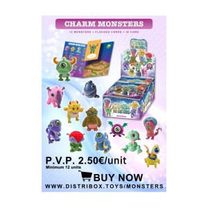 Póster Colección Charm Monsters