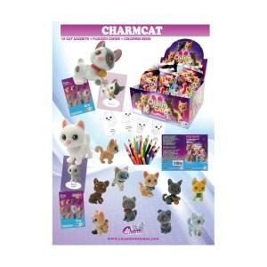Póster Colección Charmcat