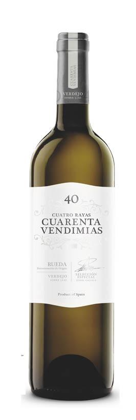 CUATRO RAYAS 40 VENDIMIAS BLANCO