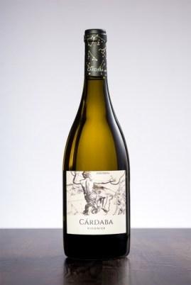 Botella de Cárdaba Viognier