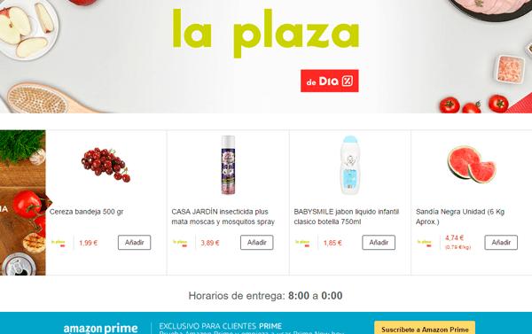 Amazon repartirá productos DIA también en Barcelona