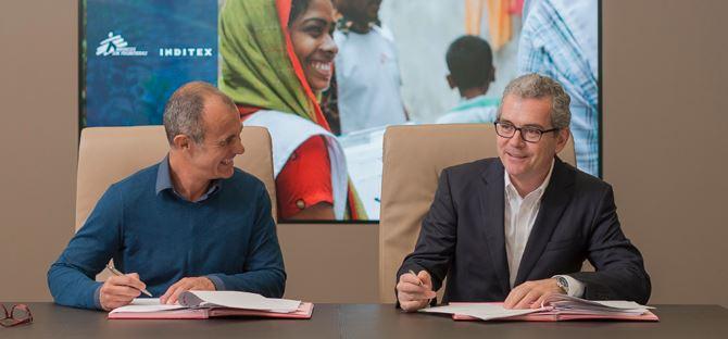 Inditex donará 2,3 millones de euros a proyectos de Médicos Sin Fronteras