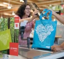 Eroski comercializará bolsas reutilizables para fines benéficos