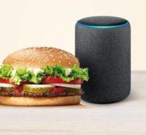 Gracias a Alexa, pronto podrás pedir una hamburguesa sin tocar el móvil