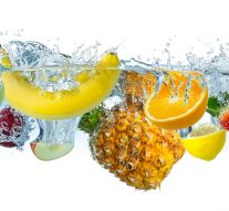 Alimentos que aportan grandes cantidades de agua