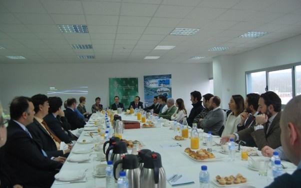 Delegación de AEFAS visita al Grupo Daniel Alonso