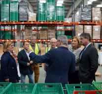 El Programa de Ayudas reparte 611.000 kilos de alimentos en Asturias