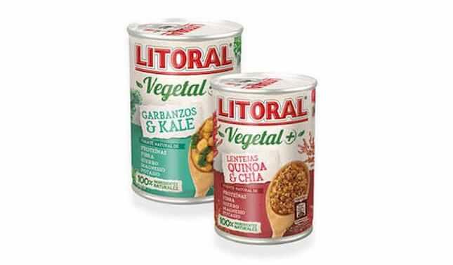 Litoral presenta su nueva gama Vegetal+ sin gluten