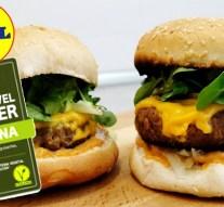 La hamburguesa vegana de Lidl supera todas las expectativas de venta