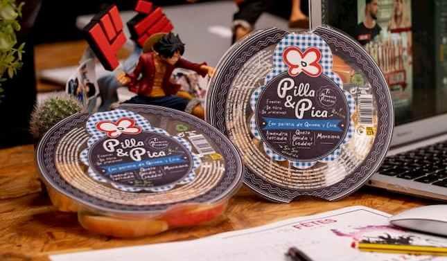 Primaflor lanza su nueva gama de snack 'Pilla & Pica'