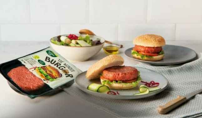 Aldi lanza su primera hamburguesa vegana Wonder Burger