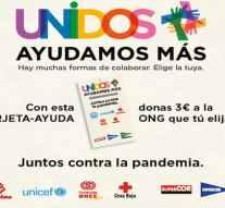 El Corte Inglés colabora con cinco ONG para lanzar tarjetas solidarias y paliar los efectos de la pandemia