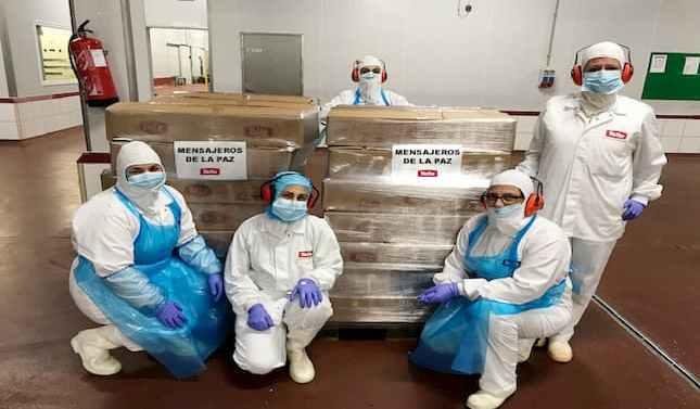 Grupo Tello donó en abril más de cinco toneladas de alimentos para familias desfavorecidas
