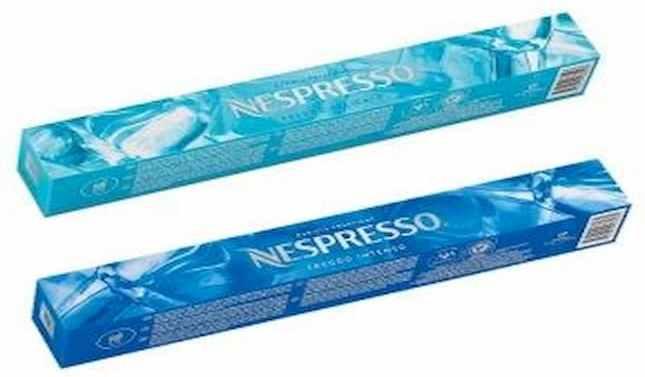 Nespresso presenta una edición limitada de cápsulas de café para tomar con hielo