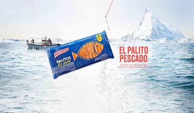 Pescanova lanza sus nuevos palitos de mar