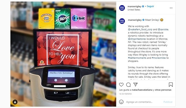 La era del robot que te persigue en el supermercado ha llegado