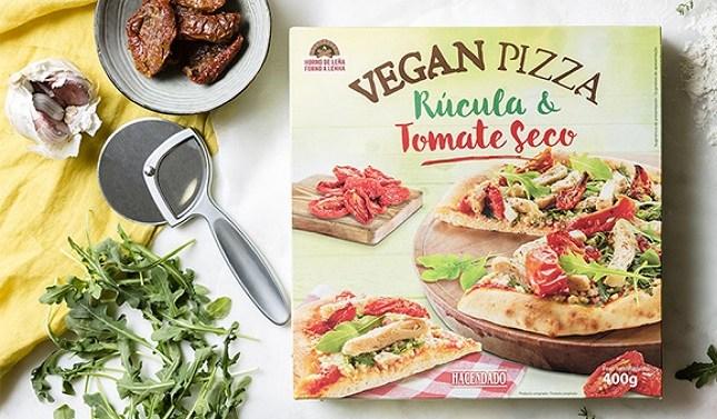 La Vegan Pizza de Hacendado, mejor comida vegana congelada de 2021