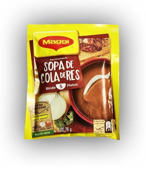 Sopa Cola de Res 76 gr