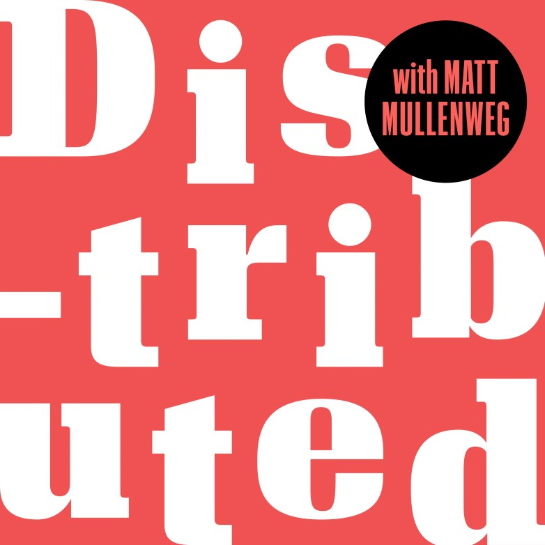 Distributed podcast cover art