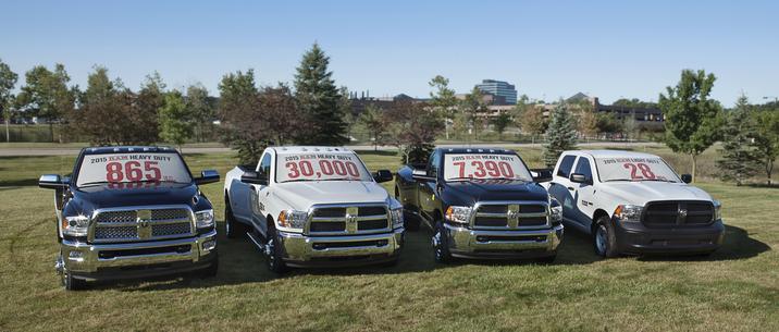 2015 RAM 2500/3500 Heavy Duty Pickups