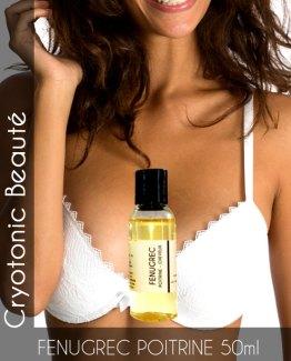 Huile de fenugrec pour augmentation mammaire naturelle 50ml