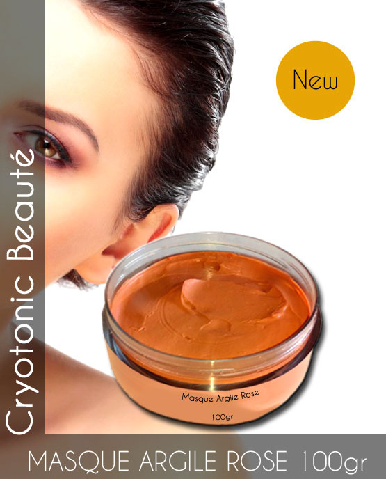 Masque d'Argile Rose Bio 100gr