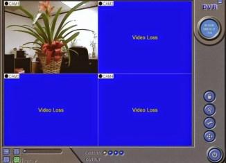 cctv video loss