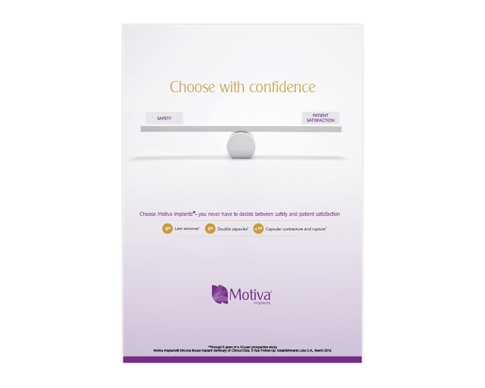 Motiva Q Inside Safety Technology™ Surgeon Flashcard