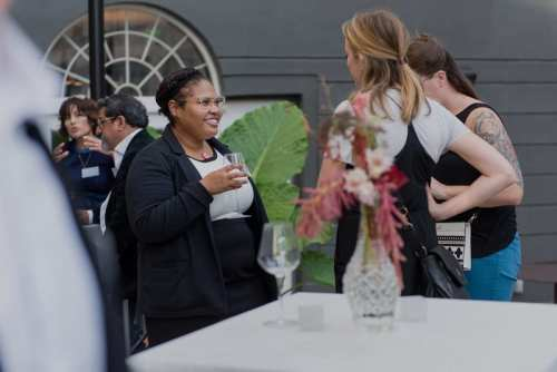 Chris Ferenzi Photography captures District Bliss Vendor Social Creative, Welcoming Networking for Entrepreneurs, Small Businesses, and Wedding + Event Vendors