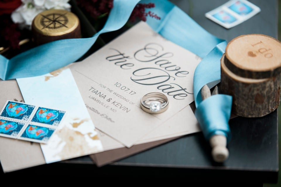 Creations by Sasha creates unique wedding invitations for engaged couples | District Bliss Community Member