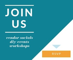 District Bliss hosts events like Vendor Socials, light-hearted networking events for businesses, DIY events and Workshops