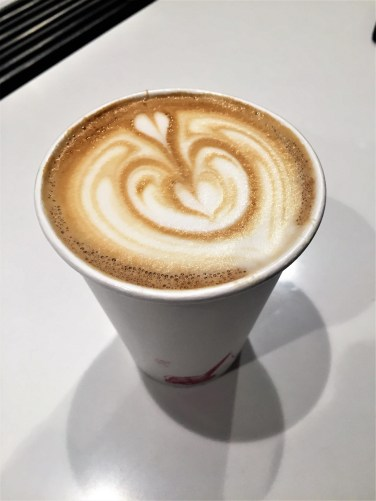 Best latte my friend has ever had.